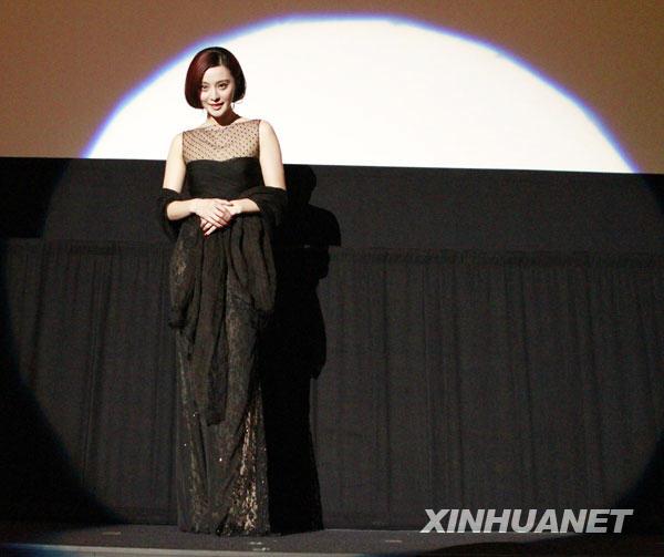 组图:东京电影节中国电影周开幕 (3)