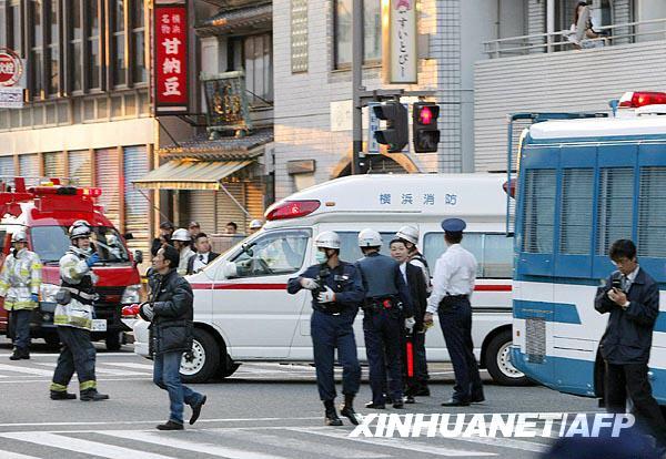 组图:日本发生枪击事件 (2)