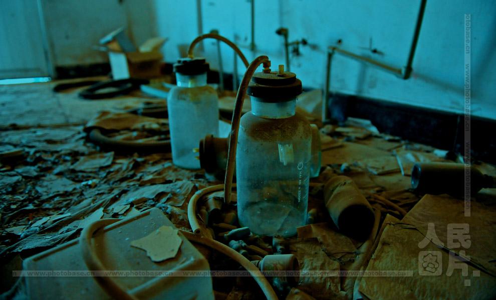 废墟 小汤山非典医院 图片
