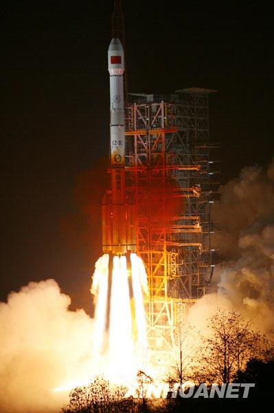 中国发射第三颗北斗导航卫星(来源新华网) - 黔中人(田丰) - 黔中人