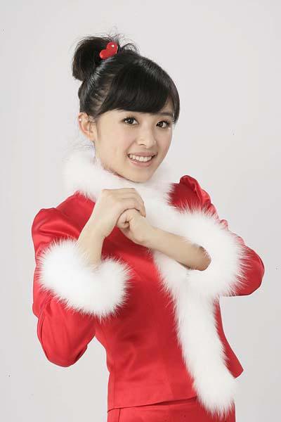 清纯邻家女孩的甜美可爱写真 张含韵 (3)