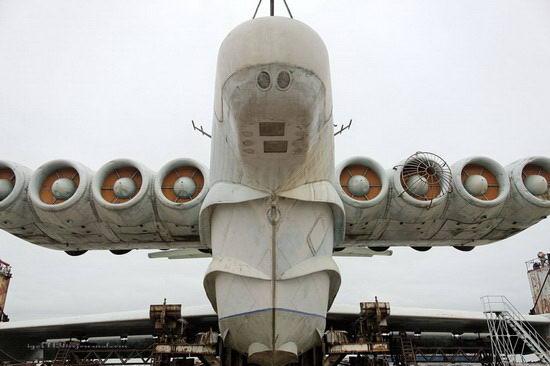 俄罗斯解密里海怪物大型军用地效飞行器 (4)