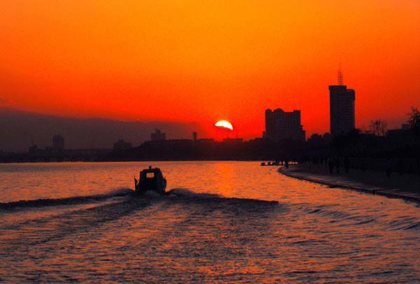 风景秀丽的咸阳湖 (14)