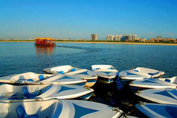 风景秀丽的咸阳湖 (11)