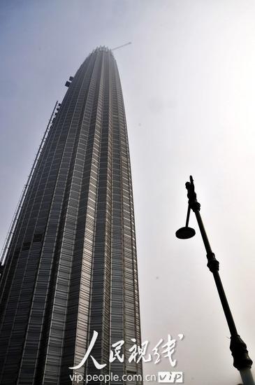 点击下载此图片-天津 华北地区第一高楼 津塔 在建设中