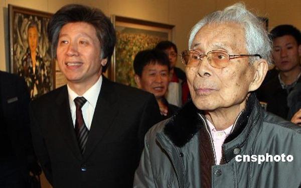 组图 著名画家吴冠中在北京逝世 6
