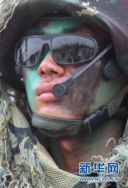 友谊 王建民/这是中巴双方举行的第三次反恐联合训练。这是参训人员。新华社...