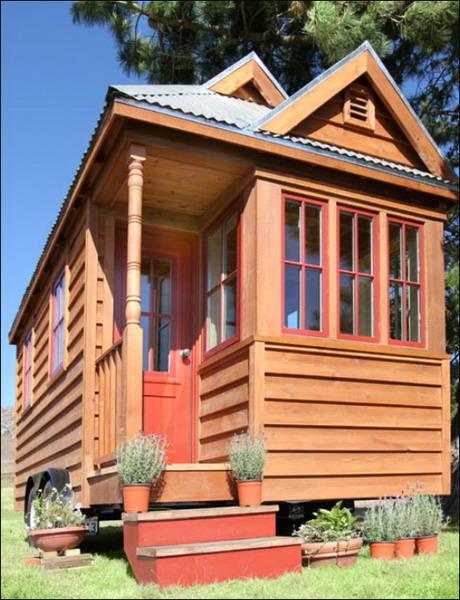 可移动的小木屋