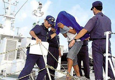日本海上保安厅决定逮捕中国渔船船长 - 吉本祥 - 亮劍天下