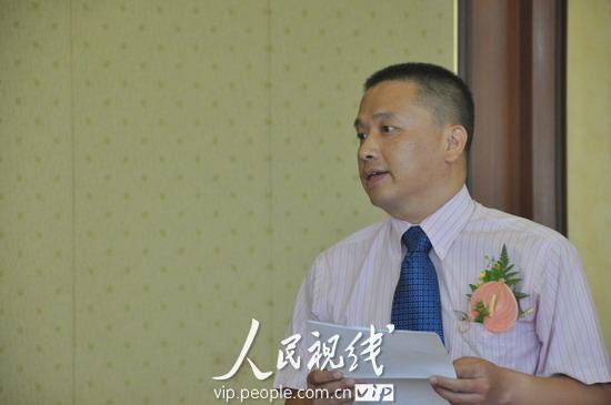 中国摄影报社总编辑曾星明致辞.