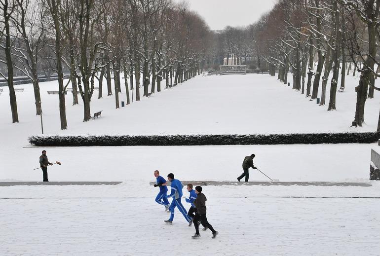 高清:雪中欧洲的别样景致 (9)