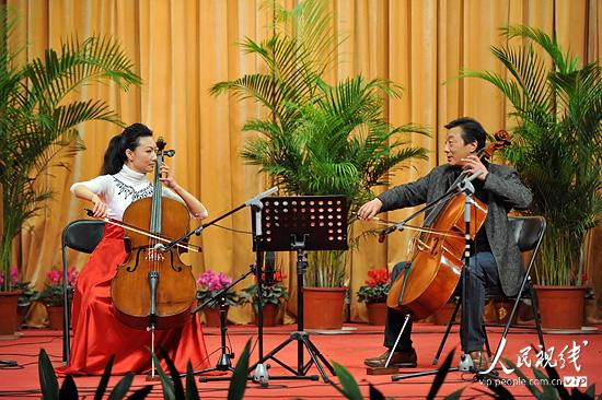 山东济南:王硕大提琴独奏会成功举办 (2)