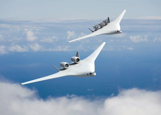 美宇航局公布2025年飞机设计图