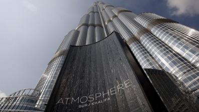 世界最高餐廳 迪拜塔