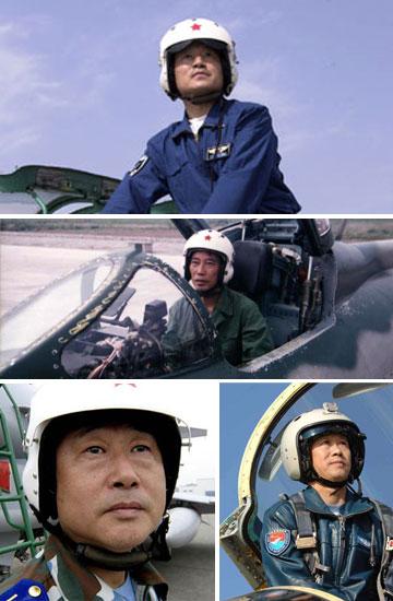 雷强作为我国第三代新型歼击机的首席试飞员出色地完成了歼10飞机的