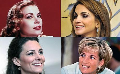 特·米德尔顿、戴安娜王妃-全球王室十大美女榜单出炉 英国准王妃